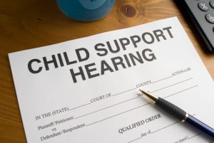 child support document